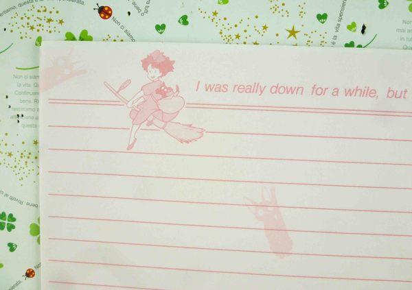 【震撼精品百貨】魔女の宅急便_魔女宅急便~便條-粉色橫條
