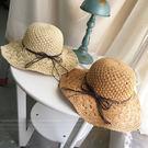 蠟繩編織草帽 可收折 沙灘比基尼有型必搭 橘魔法 magicG 現貨 防曬