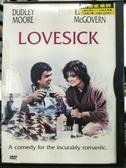 挖寶二手片-P33-004-正版DVD-電影【戀愛症候群/Lovesick】-德利摩爾 (直購價)經典片 海報是影印