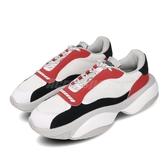 Puma 休閒鞋 Alteration Core 白 紅 男鞋 色塊拼接 老爹鞋 運動鞋 【PUMP306】 37158402