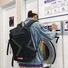 日系書包男時尚潮流鐳射電腦旅行背包大容量...