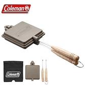日本【Coleman】三明治烤盤 多功能烤盤 附收納袋 170-9435