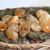 易晶緣天然巴西黃水晶原石擺件邊角料水晶石能量石魚缸石裝飾石子