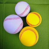 PU海綿棒球兒童球泡沫軟式棒壘球中小學生訓練用