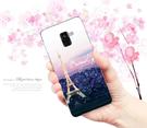 [A530F 軟殼] 三星 Samsung Galaxy A8 (2018) 手機殼 外殼 巴黎鐵塔