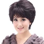 假髮(短髮)-流行逼真熟齡蓬鬆女假髮2色73ek2【時尚巴黎】