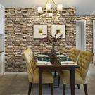 壁貼 3d立體磚紋客廳臥室背景墻墻紙自粘防水自貼壁紙裝飾墻貼貼紙溫馨