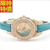 鑽錶-自信新品焦點女手錶4色5j122[巴黎精品]