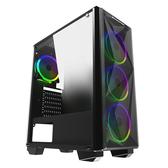 Xigmatek BEAST USB3.0*1 USB2.0*2 電腦機殼(附RGB風扇*4)