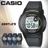 CASIO手錶專賣店 卡西歐 F-200W-9A  數字型 男錶 弧形鏡面 日常生活防水 LED照明 塑膠錶帶