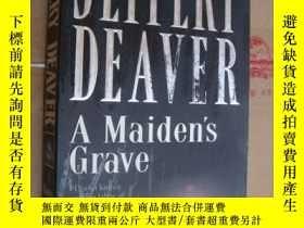 二手書博民逛書店JEFFERY罕見DEAVER:A Maiden s Grave