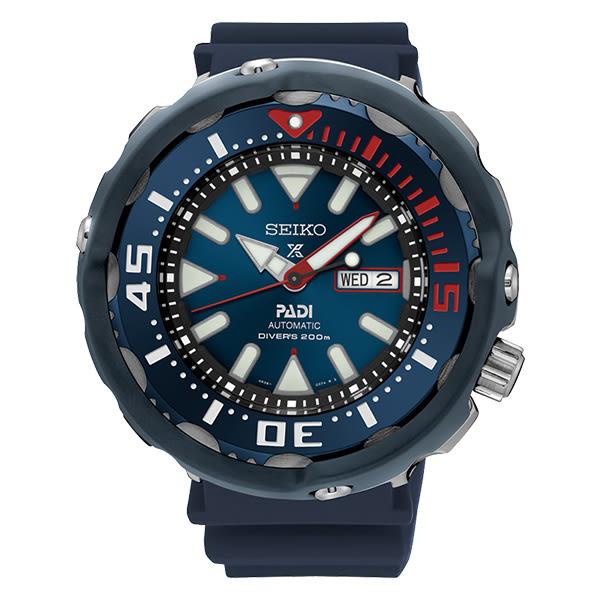 SEIKO 精工 Prospex 潛水錶 機械錶 男錶 4R36-05V0B(SRPA83J1) PADI聯名款 鮪魚罐頭