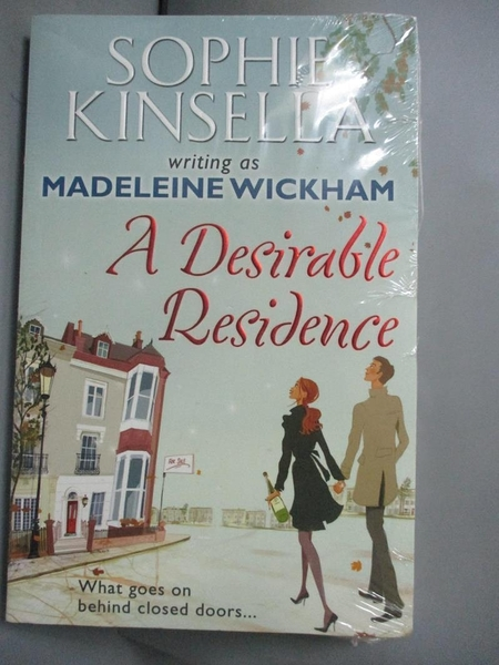 【書寶二手書T4/原文小說_GFZ】A Desirable Residence_Sophie Kinsella, Mad
