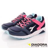 【DIADORA】乳膠潮流慢跑鞋款-DA7AWC3817-紫桃-女段-(現+預)