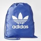 adidas 束口袋 Originals Trefoil Gym Sack 男女款 雙肩背 經典 後背包 背包 藍 白 【ACS】 BJ8358