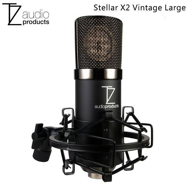 【聖影數位】TechZone Stellar X2 Vintage 復古風 大振膜電容式麥克風