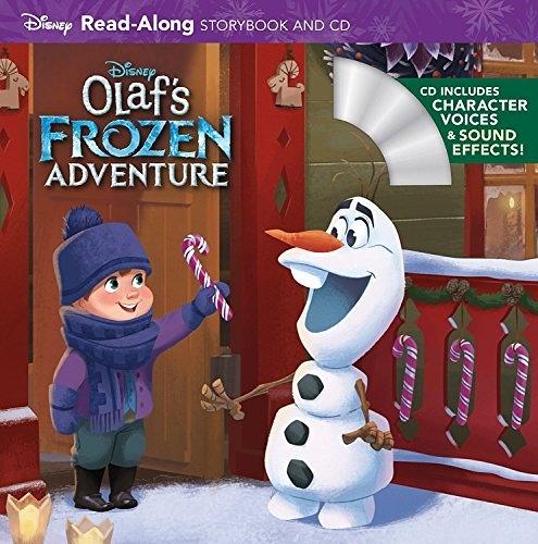 【麥克書店】OLAF'S FROZEN ADVENTURE /書+CD (雪寶的佳節冒險)