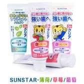 SUNSTAR 巧虎兒童牙膏 70g 葡萄 / 草莓 / 薄荷 三詩達  0951