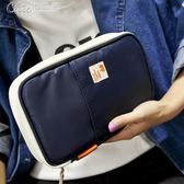 旅遊卡包錢包護照夾護照包多功能證件袋票據夾保護套出國旅行用品「七色堇」