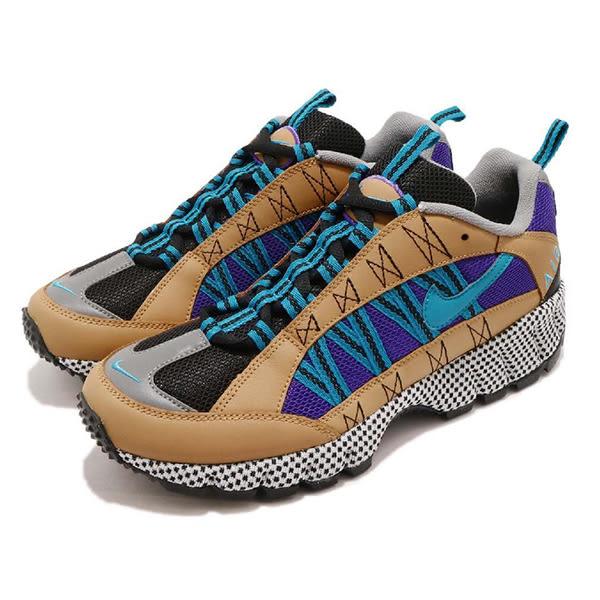 ▲Nike 戶外鞋 Air Humara 17 QS 咖啡 藍 反光 男鞋 越野運動鞋 AO3297-700