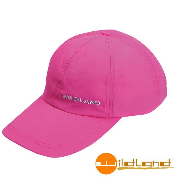 Wildland荒野 W1013-32粉紅色 中性 抗UV透氣棒球帽/防曬/遮陽/踏青/郊遊/MIT/休閒帽/工作帽