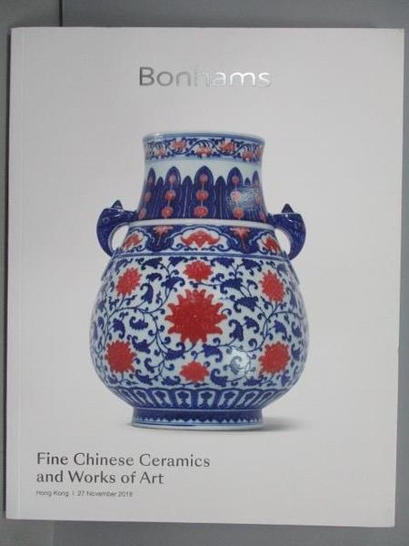 【書寶二手書T8/收藏_QEI】Bonhams_Fine Chinese Ceramics…Art_2018/11/27