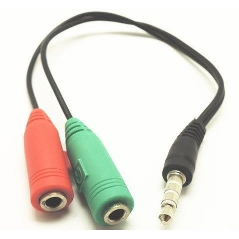 2轉1 音頻轉接線 頭戴式耳機轉手機音頻線專用 耳機 耳麥 電競耳機 轉接線