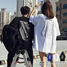 【OBIYUAN】短袖t恤 freesize 情侶衣服 標語 寬鬆 上衣3色【K250】