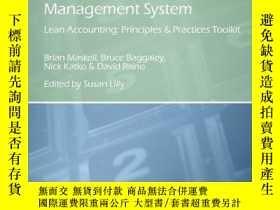 二手書博民逛書店The罕見Lean Business Management System; Lean Accounting Pri