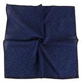 Calvin Klein CK滿版字母男士手帕/帕巾(藍色)989091-272