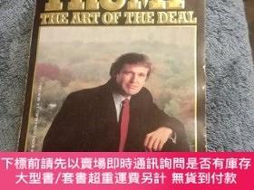 二手書博民逛書店TRUMP罕見THE ART OF THE DEAL(小32開 插圖本)Y165164 Donald J.、T
