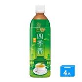 波蜜靠茶四季青茶PET580ml*4【愛買】