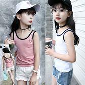 12兒童背心女童夏季6純棉小吊帶中大童9女孩