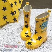 春夏兒童雨鞋可愛防滑男女寶寶雨靴水鞋水靴卡通中筒親子雨鞋