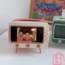 電視機面紙盒手機支架收納盒桌面擺件【匯美優品】