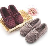 秋冬新款居家包跟防滑拖鞋孕產婦坐月子鞋送媽媽保健棉鞋xx8602【每日三C】