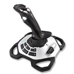 [富廉網] 羅技 Logitech  閃靈鈦翼二代 飛行搖桿 彎曲造型手把方向舵