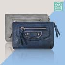短夾 時尚設計皮夾 多夾層款手拿包 零錢包  89.Alley ☀3色 HL-8988
