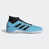 ADIDAS PREDATOR 19.3 IN [F35615] 男鞋 運動 足球 舒適 包覆 支撐 襪套 室外 藍黑