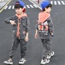 男童套裝 童秋裝套裝2021年新款兒童中大童帥氣秋季男孩三件套衣服潮【快速出貨八折優惠】