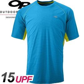 【Outdoor Research 美國 男款 MEN S Echo Duo Tee短袖排汗衣〈天空藍〉】242839/T恤/短袖/排汗衣