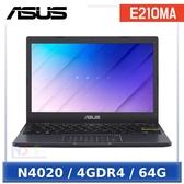 【十月限時促】 ASUS E210MA-0041BN4020 11.6吋 入門輕巧 小筆電 (N4020/4GDR4/64G/W10HS)
