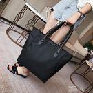 尼龍包大包韓版新款潮時尚女包手提尼龍布包托特包牛津布側背包 雲朵走走