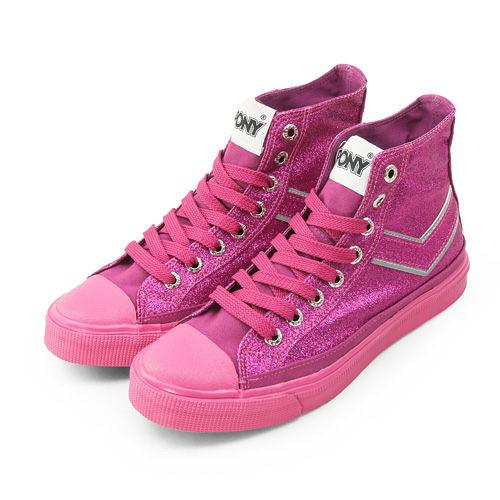 PONY 經典帆布鞋 Shooter 明星設計款 桃紅 9345SH04PM 女  6折零碼好康