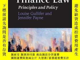 二手書博民逛書店Corporate罕見Finance Law: Principles and Policy byLouise
