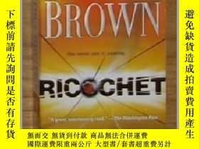 二手書博民逛書店英文原版罕見Ricochet by Sandra Brown 著