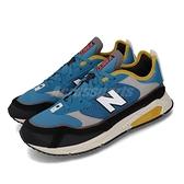 【六折特賣】New Balance 休閒鞋 X-Racer 藍 灰 男鞋 舒適緩震 運動鞋 【ACS】 MSXRCHSDD