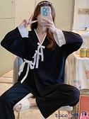 熱賣和服 純棉睡衣女士秋冬日式和服長袖春秋季薄款性感可愛學生家居服套裝 coco