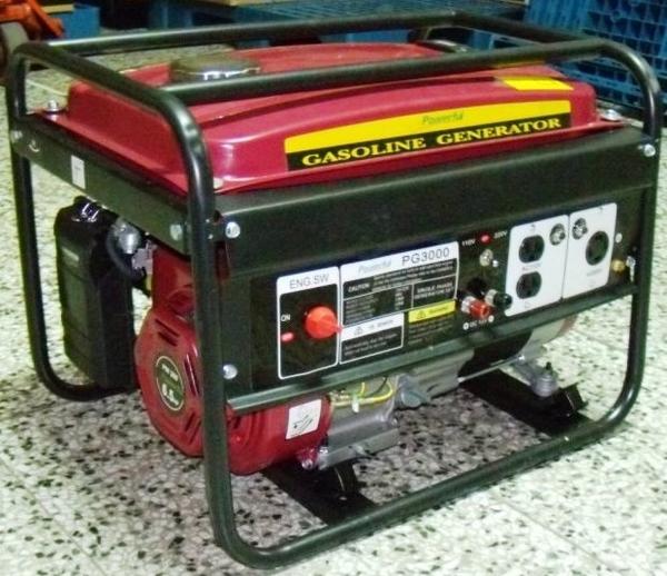 [ 家事達] POWERFUL PG2000 手拉發電機-(110V/220V)-2000w 特價