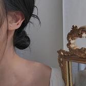 5件套耳釘簡約精致鋯石女生小巧睡覺不用摘耳環【小酒窝服饰】